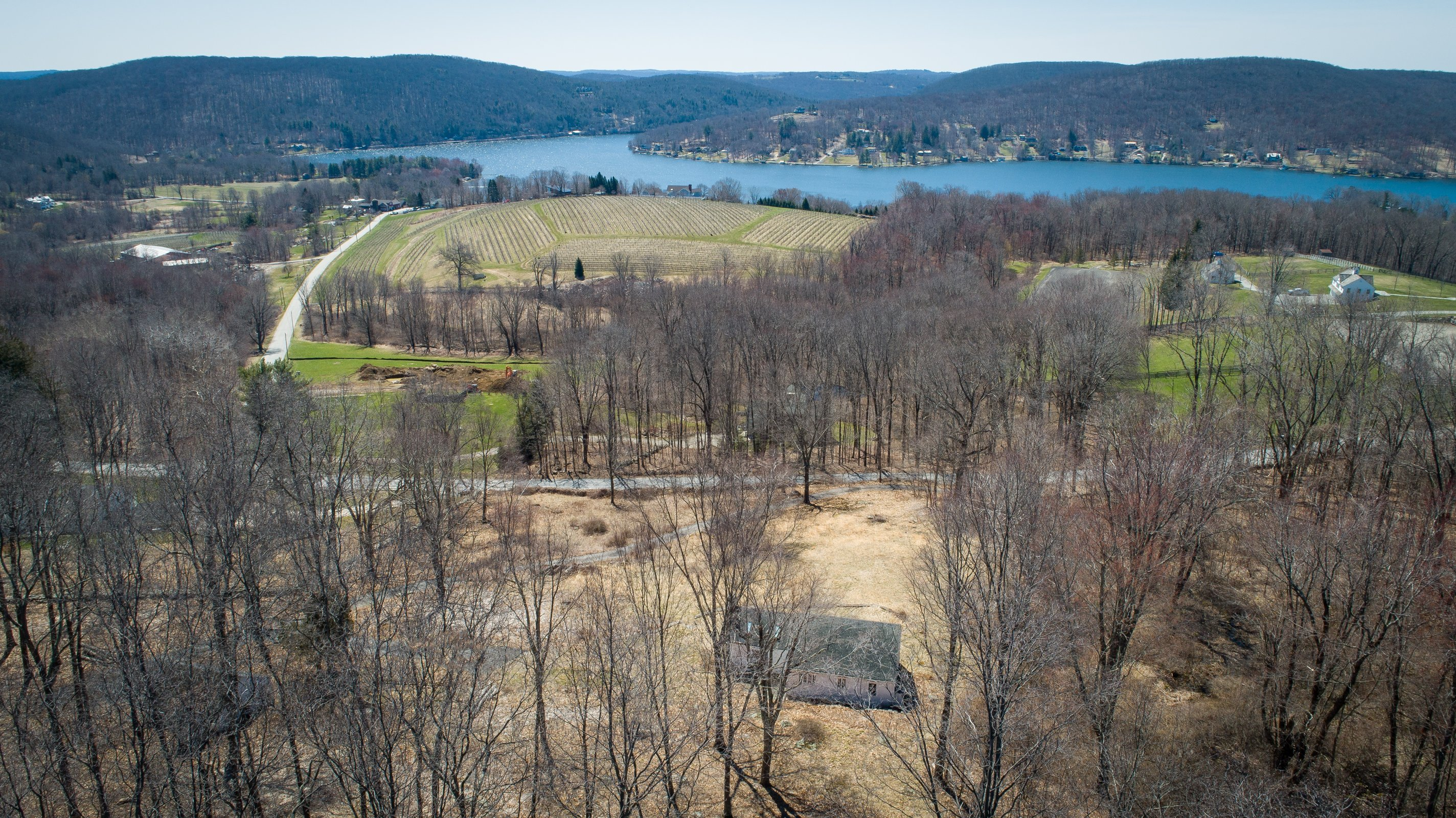 Premier Land Overlooking Lake Waramaug