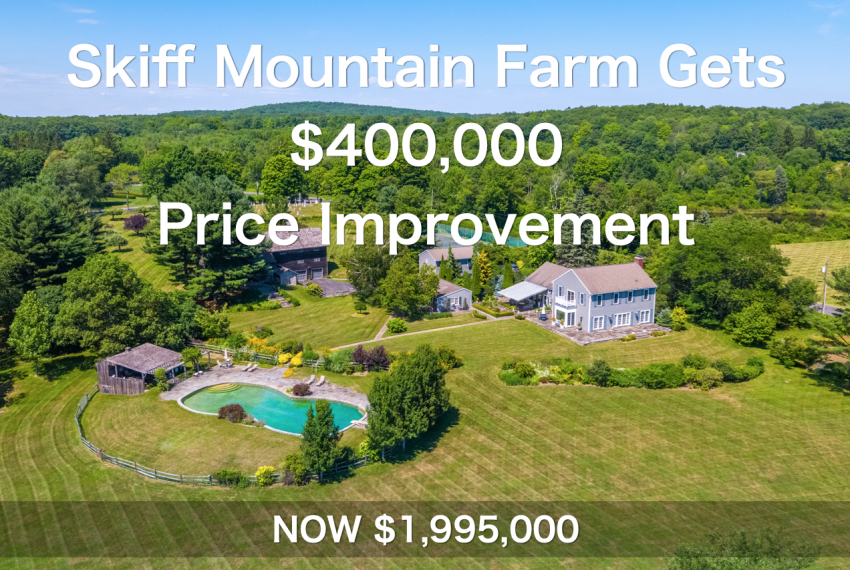 Skiff Mountain Farm in Kent Gets $400,000 Price Improvement
